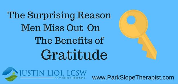 The Surprising Reason Men Miss the Benefits of Gratitude