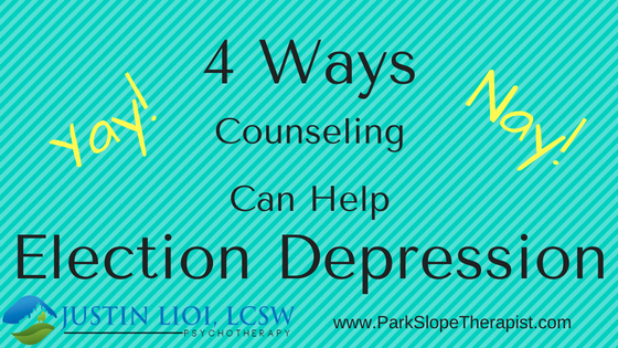 4 Ways Counseling Can Help Election Depression