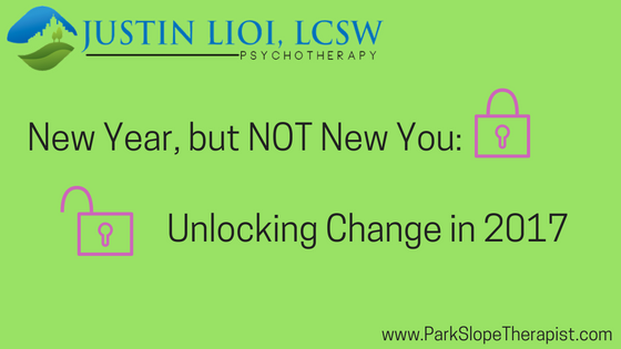 New Year, but Not New You? Making Change Happen in 2017