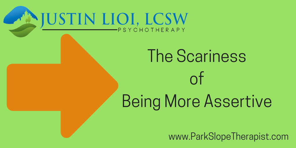 The Scariness of Being More Assertive