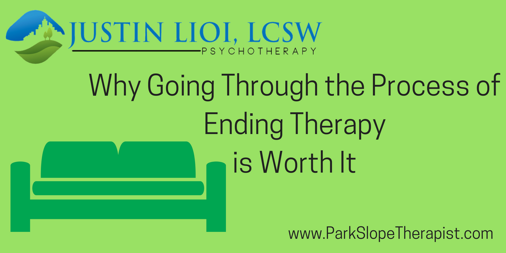 Why Going Through the Process of Ending Therapy is Worth It