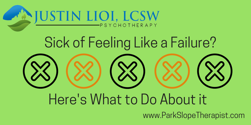 Sick of Feeling Like a Failure? Here's What to Do About It
